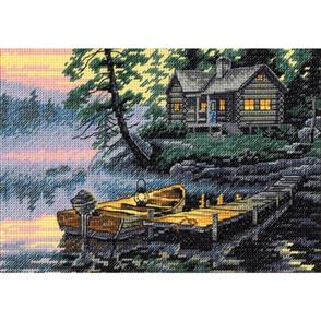 Dimensions  Morning Lake - Cross Stitch Kit