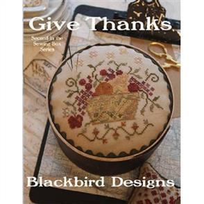 Blackbird Designs  Give Thanks