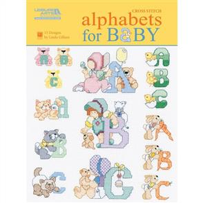 MISC  Alphabets for BABY - 15 Cross Stitch Alphabets