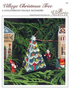 The Victoria Sampler Village Christmas Tree