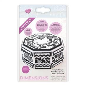 Tonic  Dies - Dimensions - Simple Things Kaleidoscope Box Insert Set