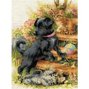 Riolis  On Holiday - Counted Cross Stitch Kit