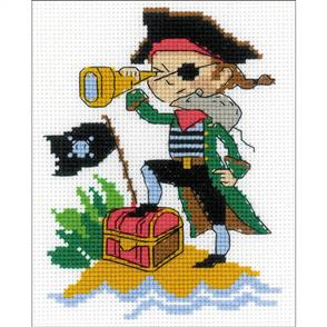 Riolis  Brave Pirate - Counted Cross Stitch Kit
