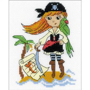 Riolis  Treasure Island - Counted Cross Stitch Kit