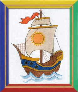 Riolis  On the Waves - Counted Cross Stitch Kit