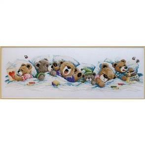 Janlynn  Cross Stitch Kit: Sleepy Bears