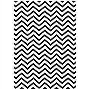 "Darice  Embossing Folder - Chevron 5""x7"""