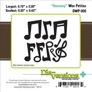Die-Versions  Harmony - Music Notes