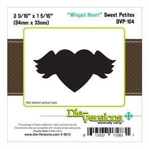 Die-Versions Winged Heart (Clearance)