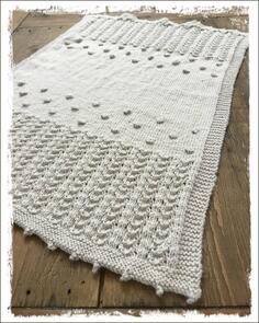 The Kiwi Stitch & Knit Co  Heirloom Baby Blanket Pattern
