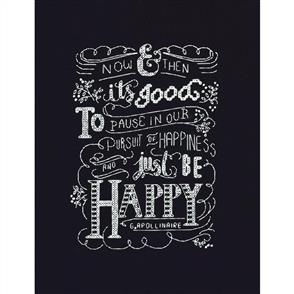 Design Works  Just be Happy - Cross Stitch Kit