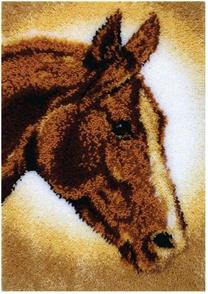 Caron Wonderart  Horse - Latch Hook Kit 51 x 76cm