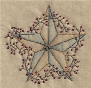 Chickadee Hollow Christmas Keepsakes Ornament - Prim Star