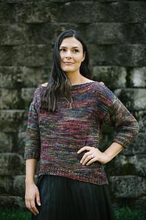 Malabrigo Pintado by Rita Taylor - Womans Pullover Sweater