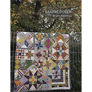 Jen Kingwell Baker's Dozen Quilt Pattern by