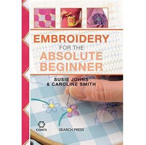 Search Press Embroidery for the Absolute Beginner