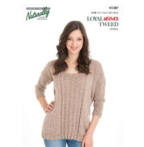 Naturally  K1387 Loose Fitting Jumper