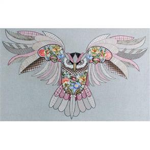 Hazel Blomkamp Crewel Creatures Kit - Maureen the Owl