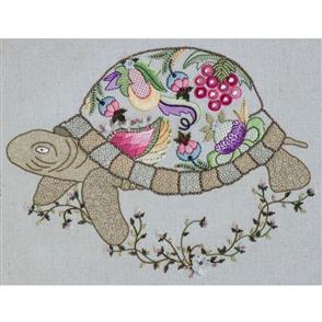 Hazel Blomkamp Crewel Creatures Kit - Norman