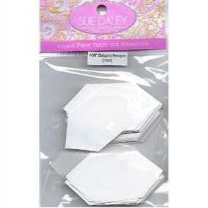 Sue Daley  English Paper Pieces - Elongated Hexagon 1-3/8""