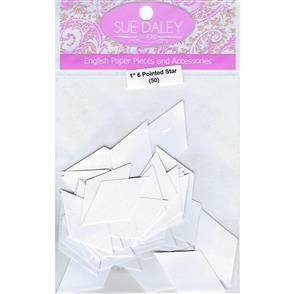 Sue Daley  English Paper Pieces - 6 Pointed Star 1""