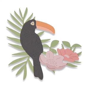 Sizzix  Thinlits Die - Tropical Bird