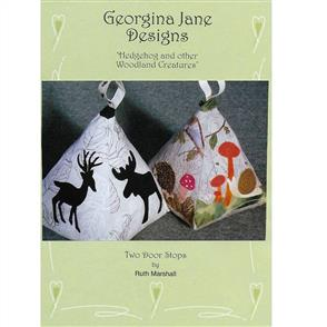 Georgina Jane Designs Door Stop - Hedgehog and other Woodland Creatures