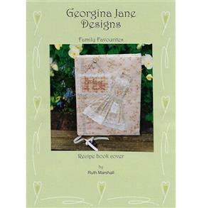 Georgina Jane Designs Family Favourites Recipe Book Cover