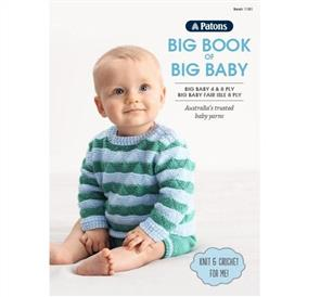 Patons Book 1101 - Big Book of Bog Baby - 12 Patterns