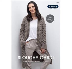 Patons Pattern 0030 - Slouchy Cardi