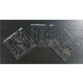 Westalee  - Mini Crosshair Ruler Set