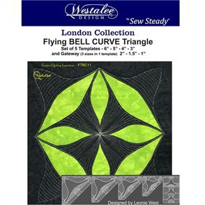 Westalee - Flying Bell Curve Triangle Set - High Shank