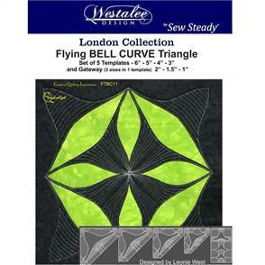 Westalee  - Flying Bell Curve Triangle Set - High Shank