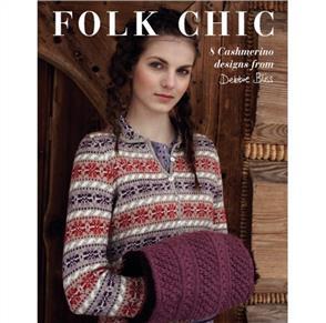 Debbie Bliss  Pattern Book Folk Chic - 6 Designs