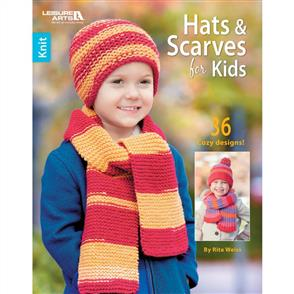 Leisure Arts  Hats & Scarves For Kids