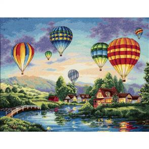 Dimensions  Gold Collection Cross Stitch Kit - Balloon Glow