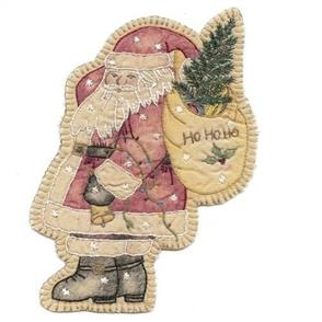 Chickadee Hollow  Vintage Christmas Santa
