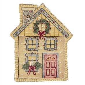 Chickadee Hollow Vintage Christmas House