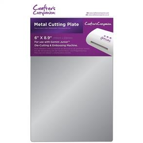 "Crafters Companion Gemini Junior Metal Cutting Plate 6""X9"""