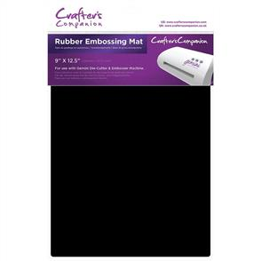 "Crafters Companion  Gemini Rubber Embossing Mat - 9""X12.5"""
