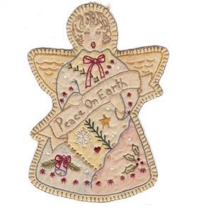 Chickadee Hollow Vintage Christmas Angel