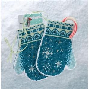Mill Hill  Mittens Trilogy - Snowflake Mittens