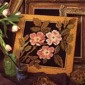Beth Russell Jackfield Rose - Tapestry Kit
