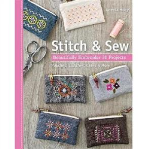 Stash Books  Aneela Hoey Stitch & Sew : Beautifully Embroider 31 Projects