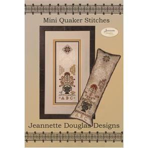 Jeannette Douglas Designs - Mini Quaker Stitches - Embroidery Pattern