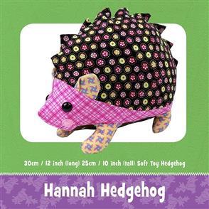 Funky Friends Factory Hannah Hedgehog Sewing Pattern