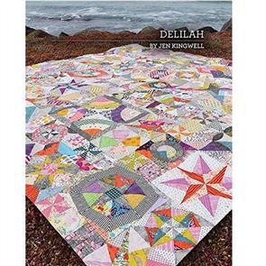 Jen Kingwell  Delilah - Quilting Pattern Booklet