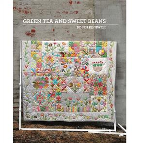 Jen Kingwell  Green Tea and Sweet Beans - Quilting Pattern Booklet