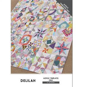 Jen Kingwell  Acrylic Template Set - Delilah