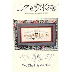 Lizzie Kate Cross Stitch Chart - Two Shall Be As One